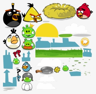 Free Angrybird Clip Art with No Background.
