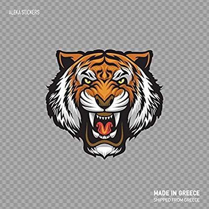 Amazon.com: Boyce22Par Angry Tiger Head Screaming Roaring.