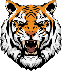 Tiger Angry Logo Vector (.AI) Free Download.