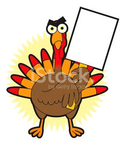 Angry Turkey premium clipart.
