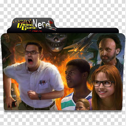 Epic Movie Folder Icon Vol , Angry Video Game Nerd Movie.