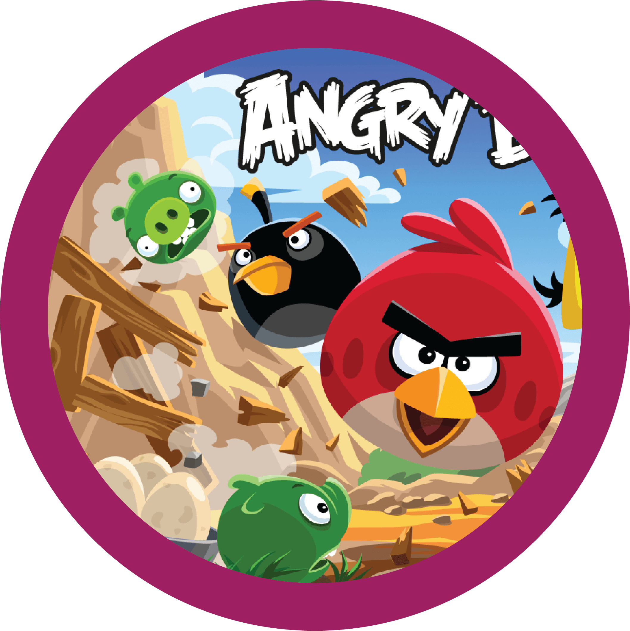 Angry Birds Happy Code.