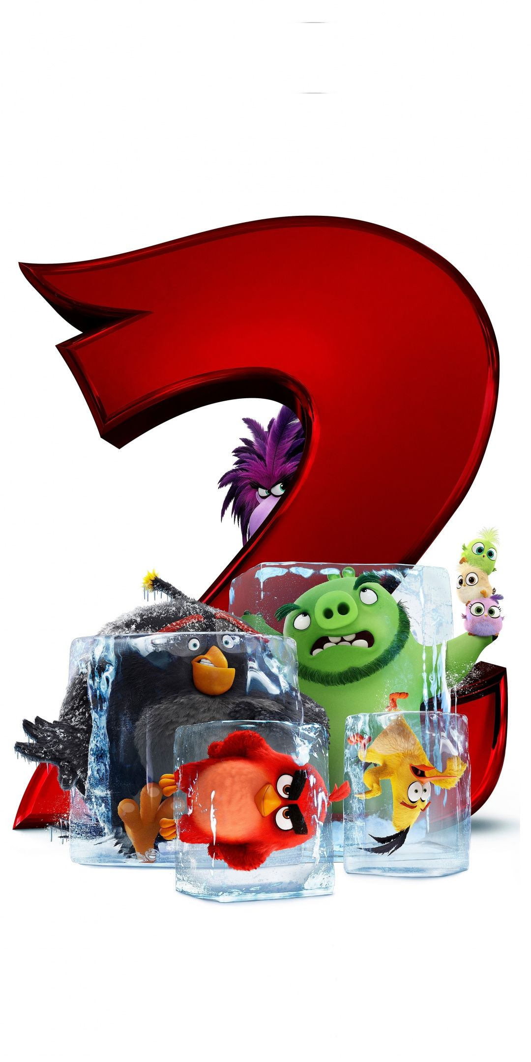 The Angry Birds Movie 2, 2019, 1080x2160 wallpaper in 2019.