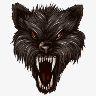 Wolves Transparent Angry.