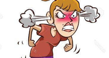 Angry Woman Cartoon Vector Archives.