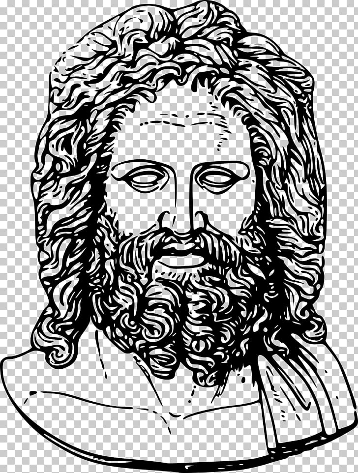 Statue of Zeus at Olympia Hera Poseidon, greek PNG clipart.