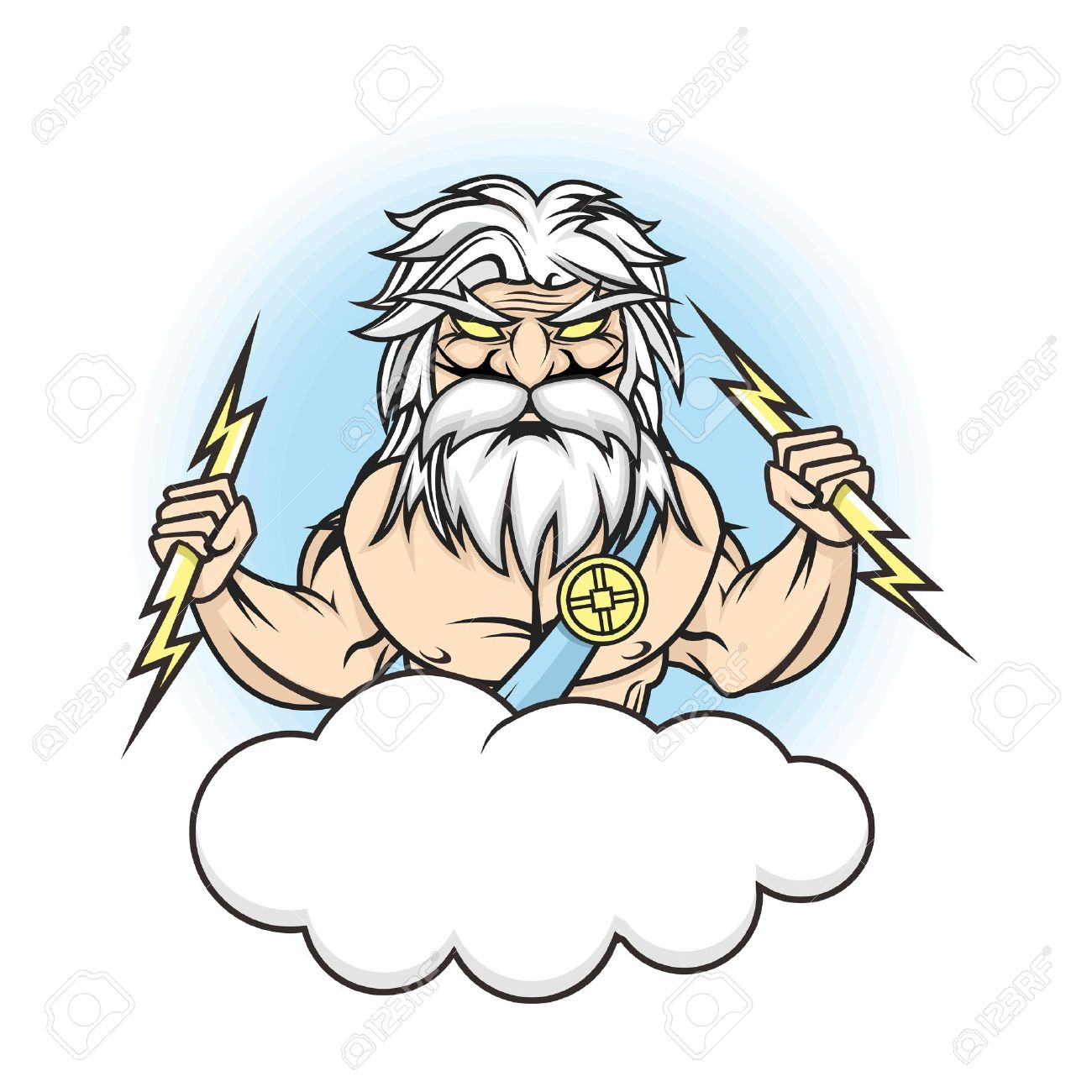 Zeus Cartoon Drawing at GetDrawings.com.
