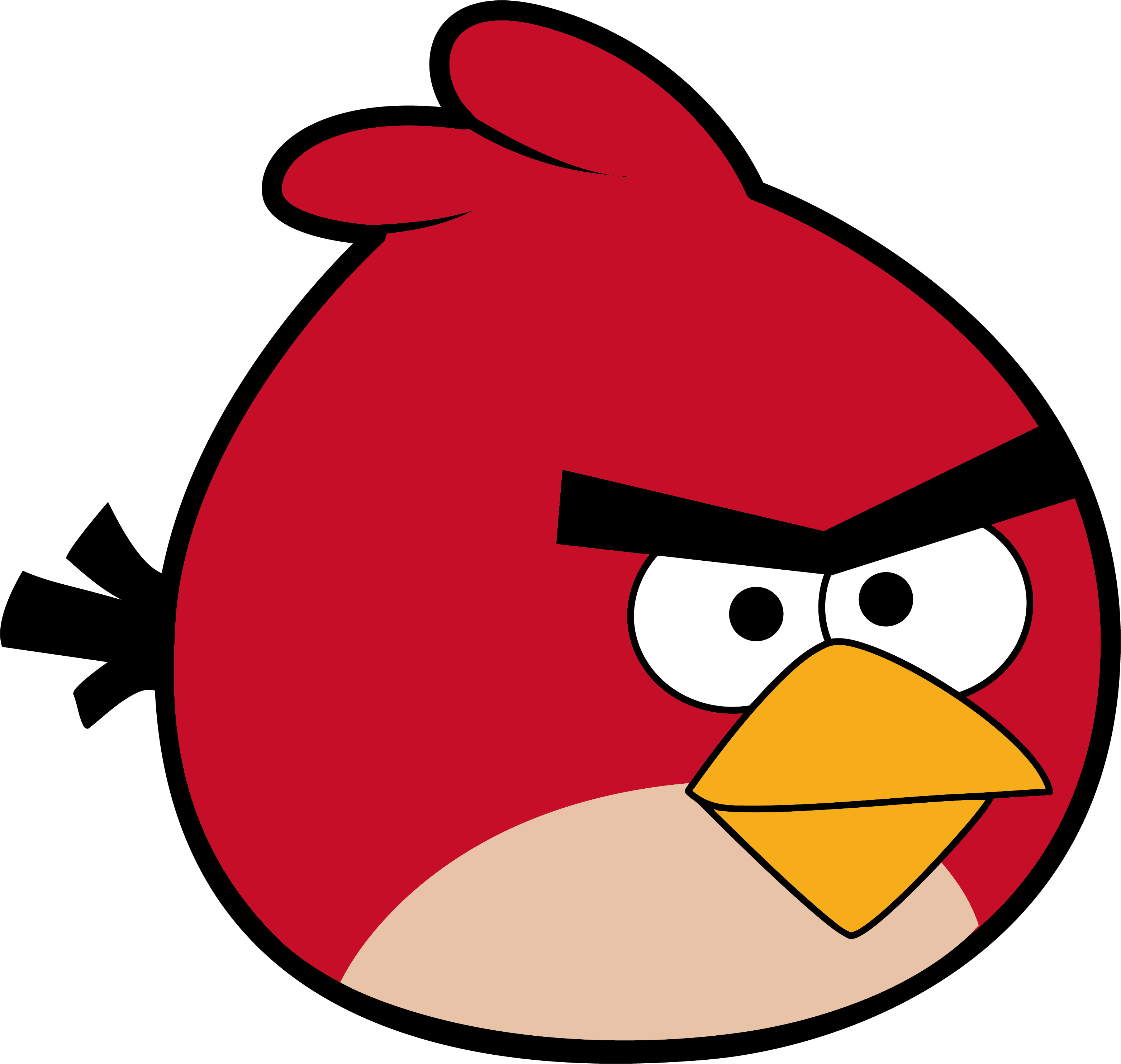 Angry bird clipart 5 » Clipart Station.
