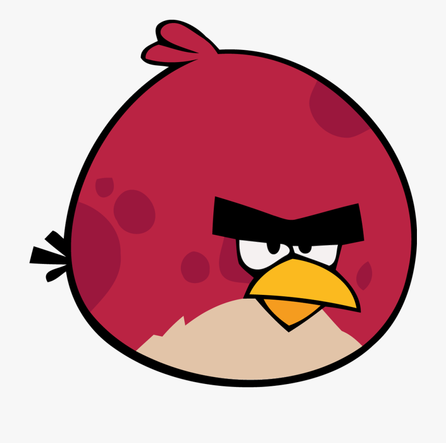 Angry Beak Smile Magenta Font Bird Red Clipart.