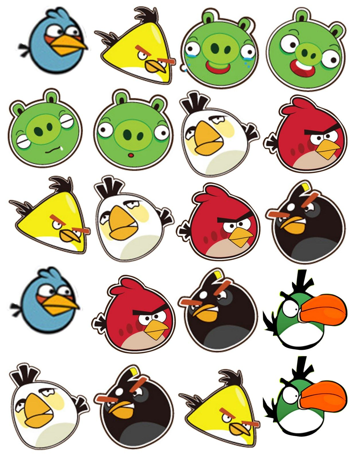 Angry bird clipart can be used for a verioty of party ideas from.