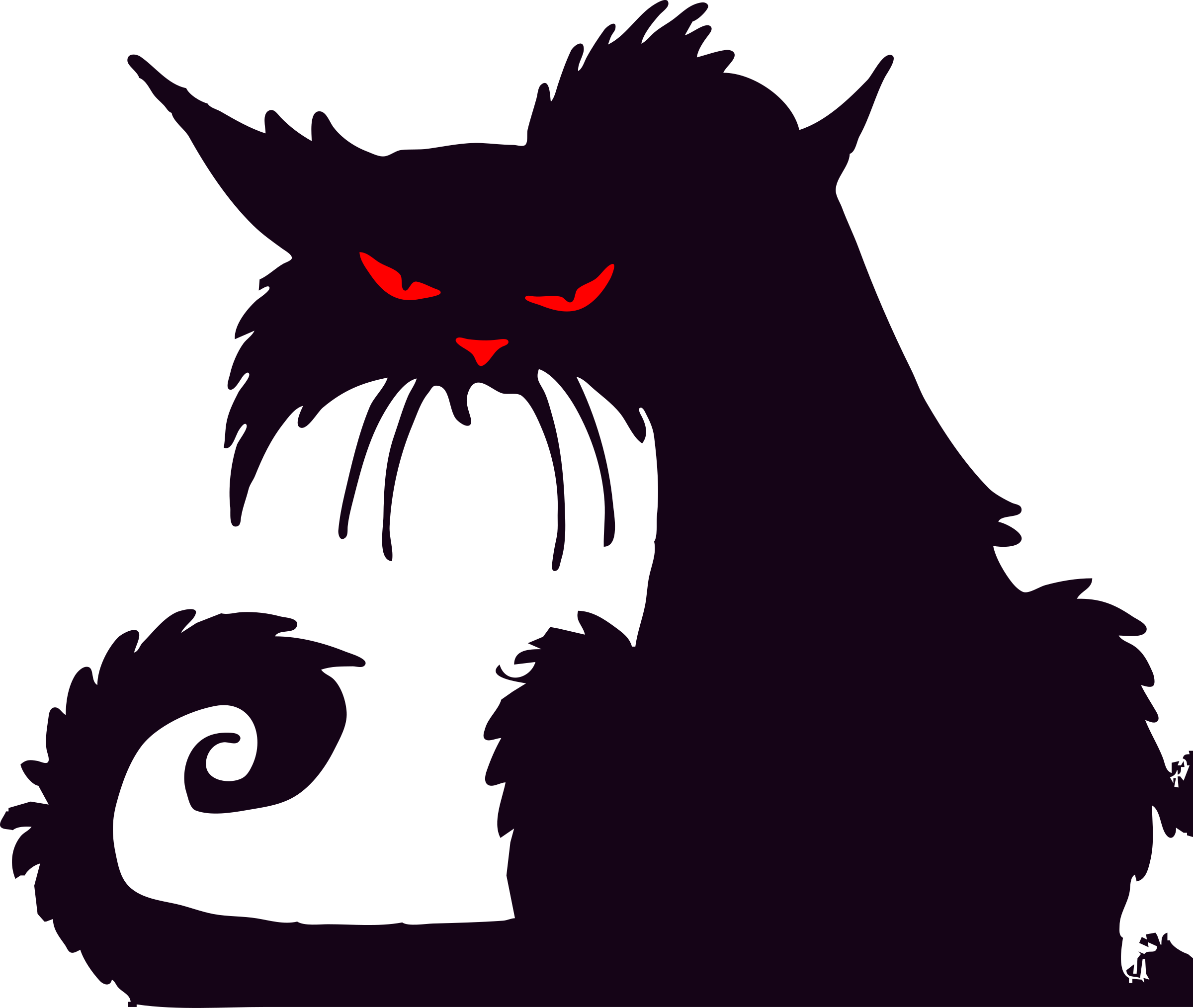 11215 Angry free clipart.