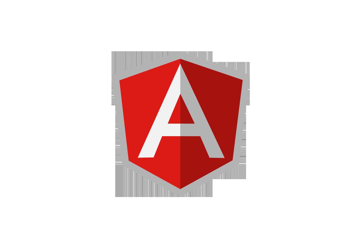 AngularJS logo.