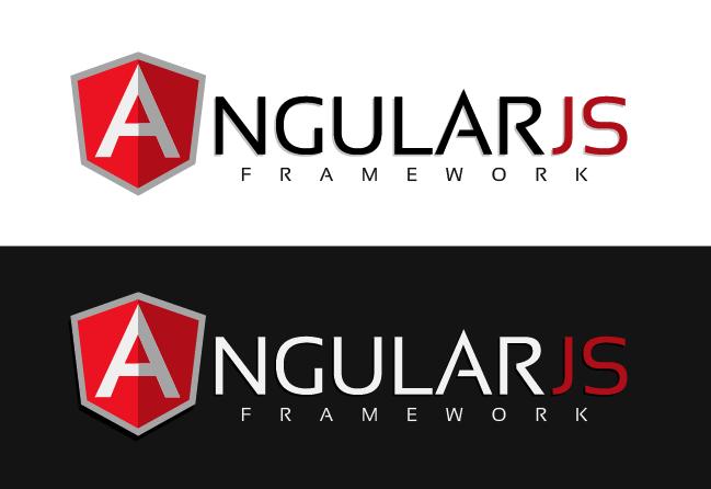 Create a logo for Google's AngularJS framework.