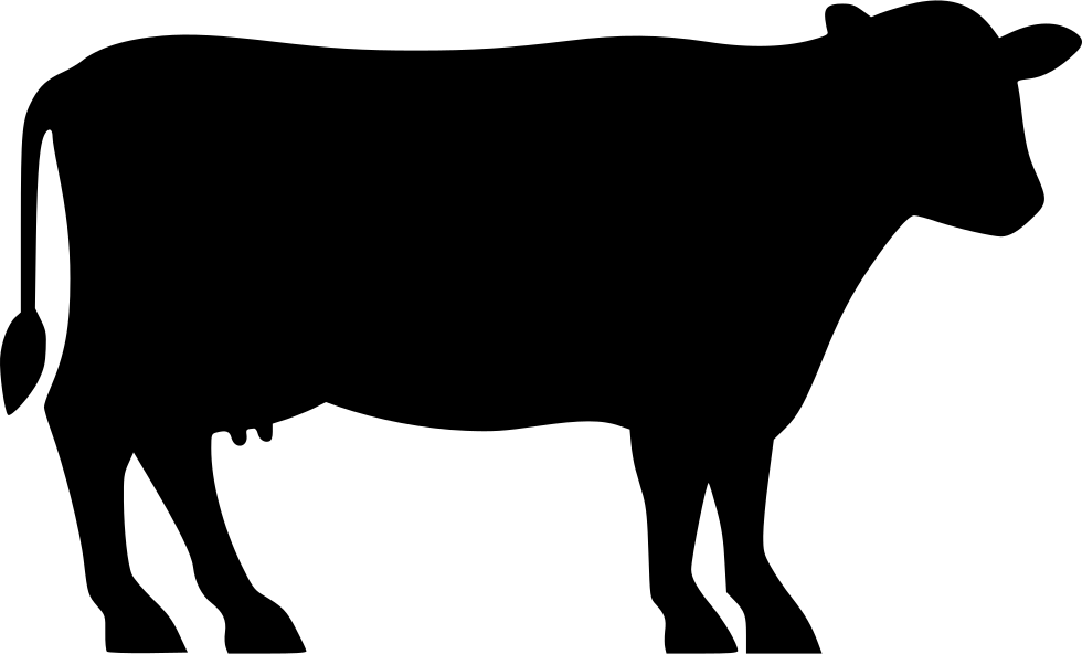 Angus cattle Beef cattle Silhouette Clip art.