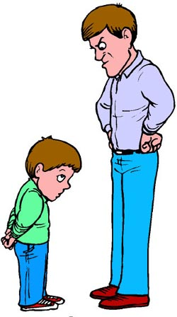 Angry Parents Clipart.