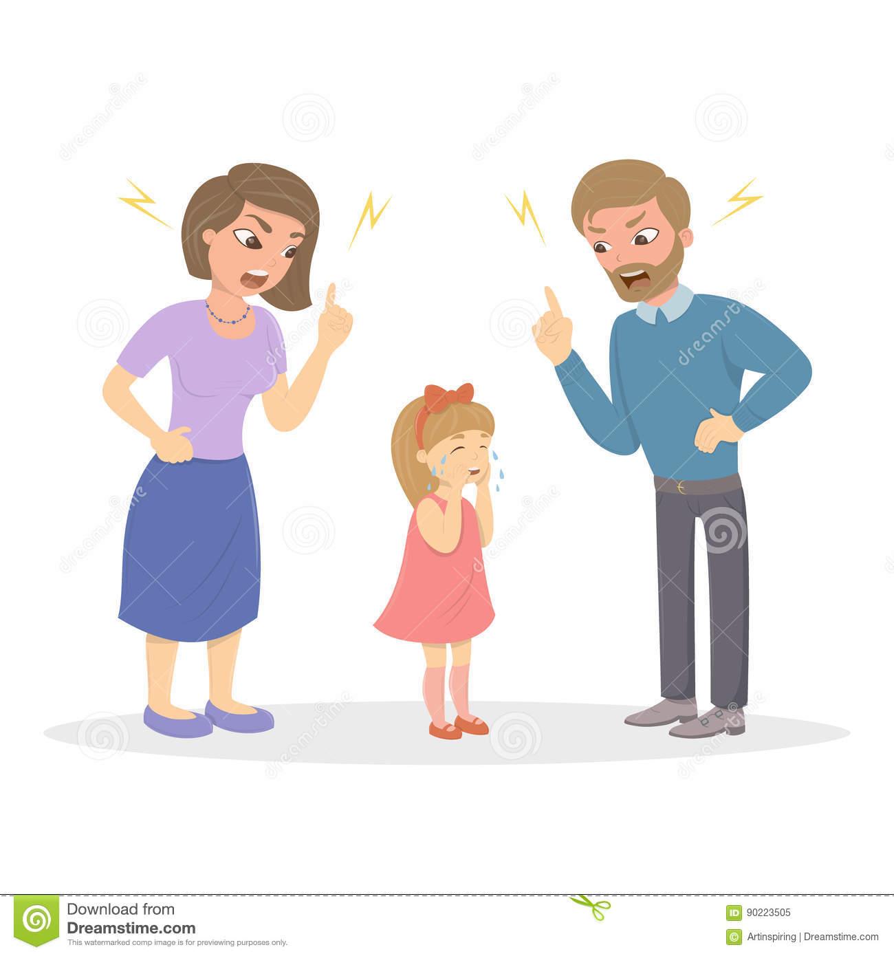 4795 Parents free clipart.