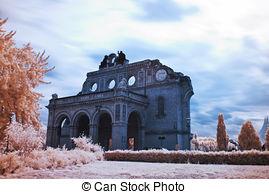 Picture of Berlin Anhalter Bahnhof Ruin.