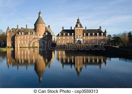 Stock Photos of Anholt Castle.