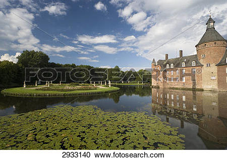 Stock Photography of Wasserburg Anholt, Germany 2933140.
