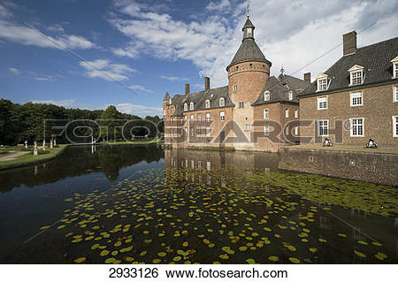 Stock Images of Wasserburg Anholt, Isselburg, Germany 2933126.