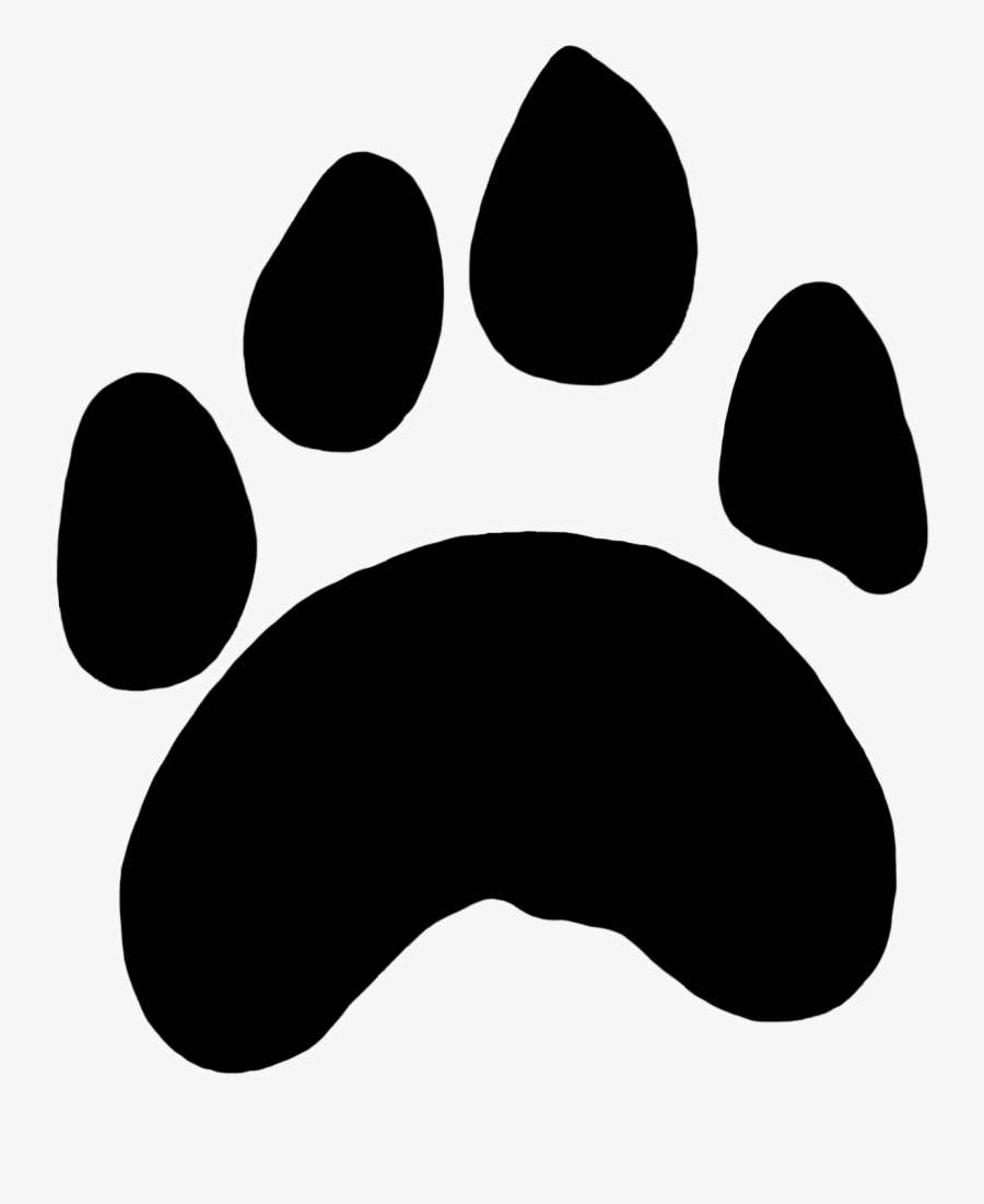 Paw Prints Clipart Tiger Paw.
