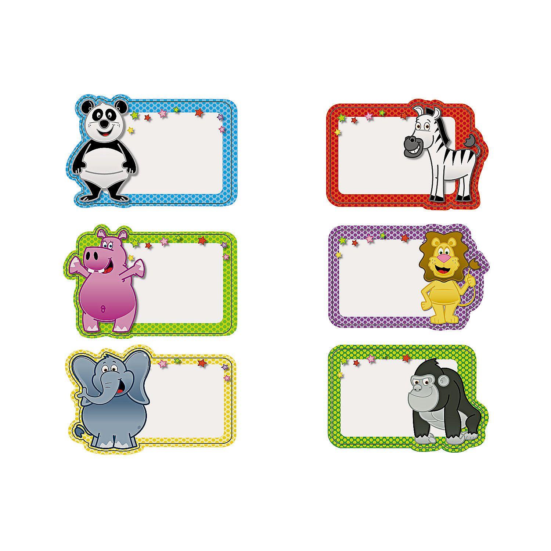 Zoo Animal Name Tags.