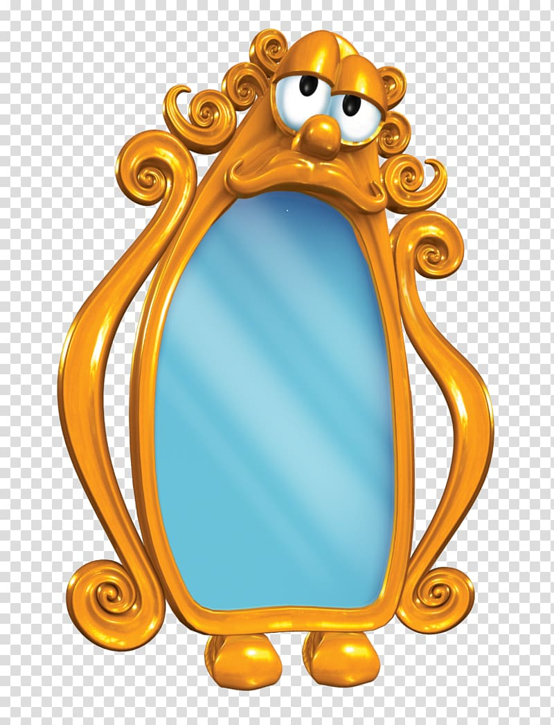 Oval M Frames Product Animal Animated cartoon, miror.