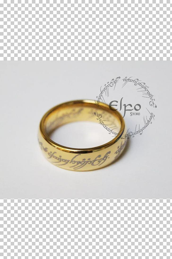 Anillo de bodas el señor de los anillos un anillo quenya.