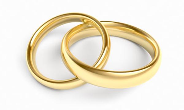 Gold Wedding Rings.