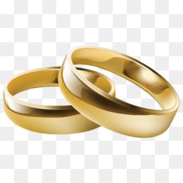 El anillo de boda de Clip art.