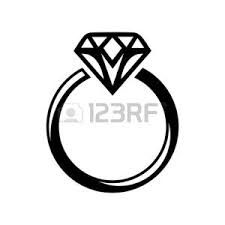Resultado de imagen para anillo de compromiso dibujo.