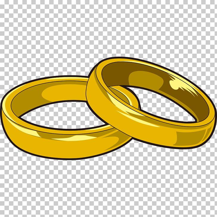 Anillo de boda, anillo pintado a mano PNG Clipart.