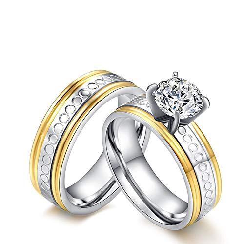 Anillos de matrimonio civil.