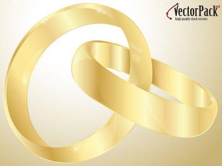 Free Anillos de oro de la bodas Clipart and Vector Graphics.