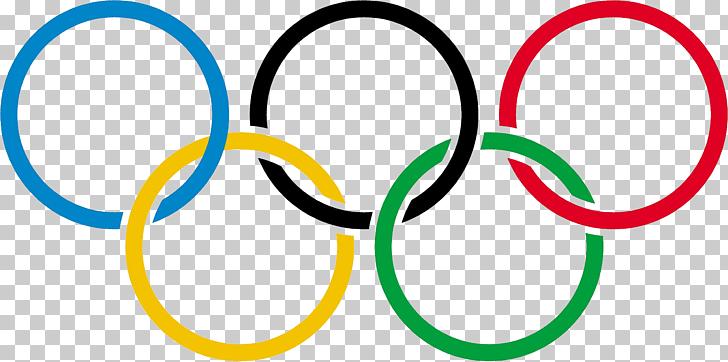 Área de círculo de la marca de juegos olímpicos de verano de.