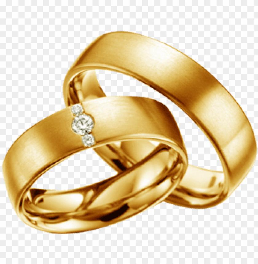 Download argollas de matrimonio png.