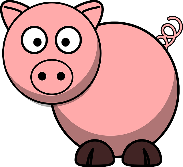 Free vector graphic: Pig, Animal, Farm, Tail, Lucky.