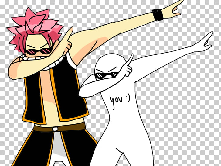 Dab Anime Drawing Meme, Anime PNG clipart.