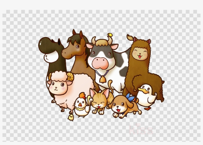 Farm Animals Png Clipart Cattle Livestock Clip Art.