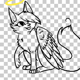9 cat Angel Cliparts PNG cliparts for free download.