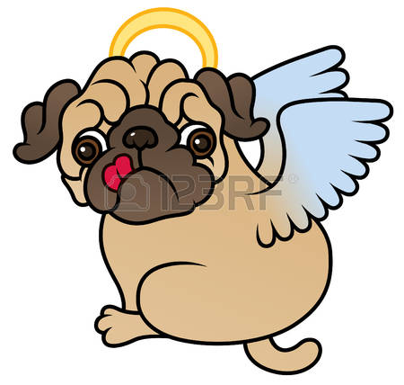 Dog Angel Clipart.