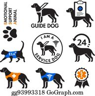 Animal Assisted Therapy Clip Art.