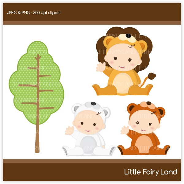 Free Clipart Baby Animals.