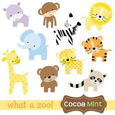 Animal Baby Clipart.