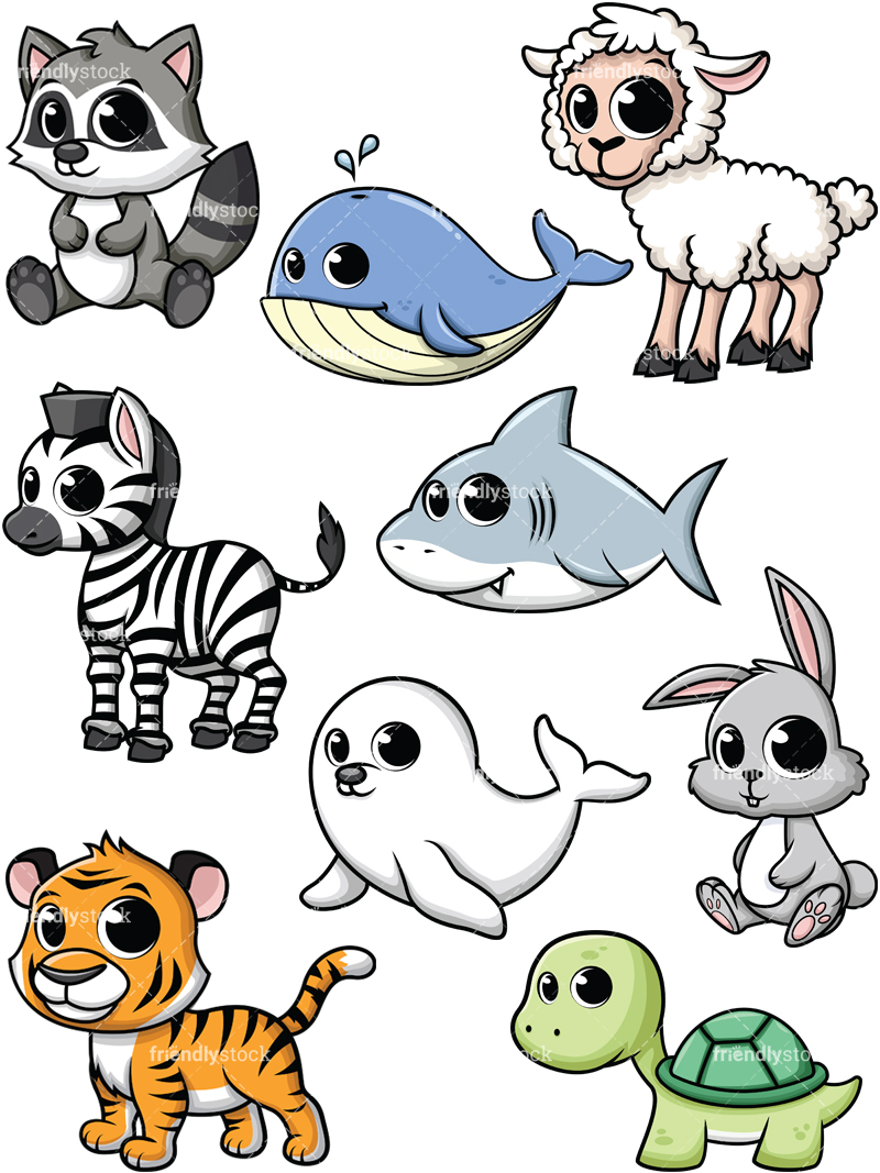 Baby Animals Collection #5.