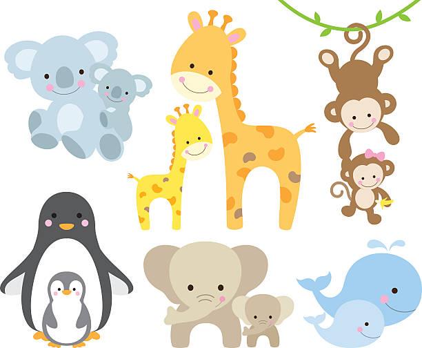Best Baby Animal Illustrations, Royalty.