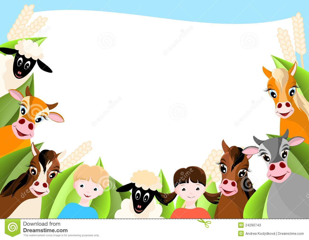 Animal background clipart 1 » Clipart Station.