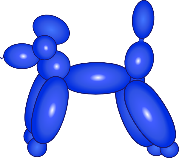 Free Balloon Animal Clipart.