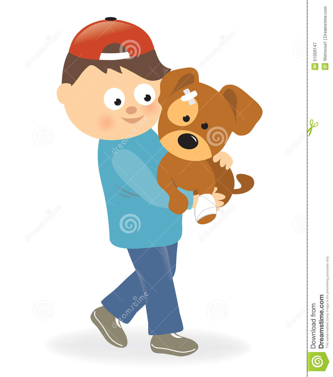Showing post & media for Bandage dog cartoon.