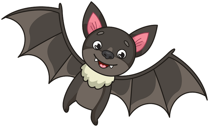 Bat clipart. Free download..